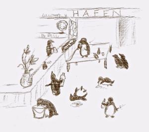 hafenpinguine