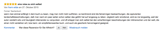 franks rezension